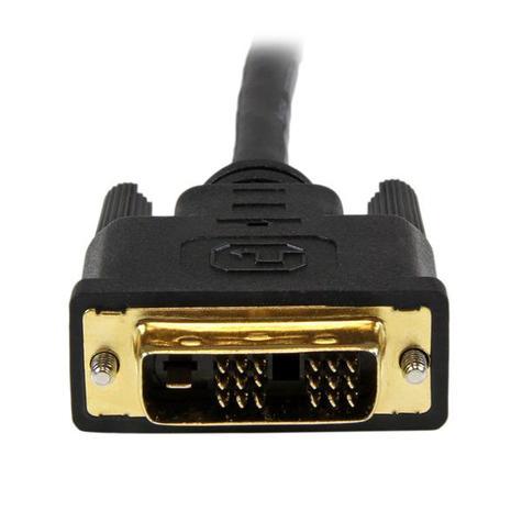 StarTech.com 1.5m HDMI to DVI-D Cable HDDVIMM150CM | M/M Converter Cable | Black | NEW Thumbnail 6