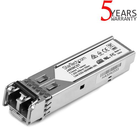 StarTech.com Gigabit Fiber SFP Transceiver Module 1000Base-SX | J4858C Compatible Thumbnail 1