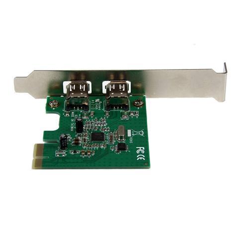 StarTech.com 2 Port 1394a PCI Express FireWire Adapter | Plug & Play | PEX1394A2V Thumbnail 4