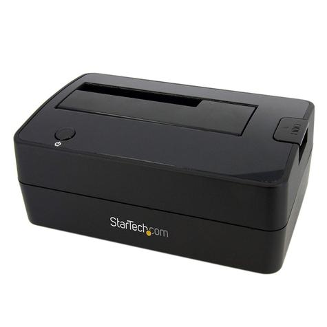 StarTech SuperSpeed USB 3.0 to SATA Hard Drive Docking Station for 2.5/3.5 HDD Thumbnail 1