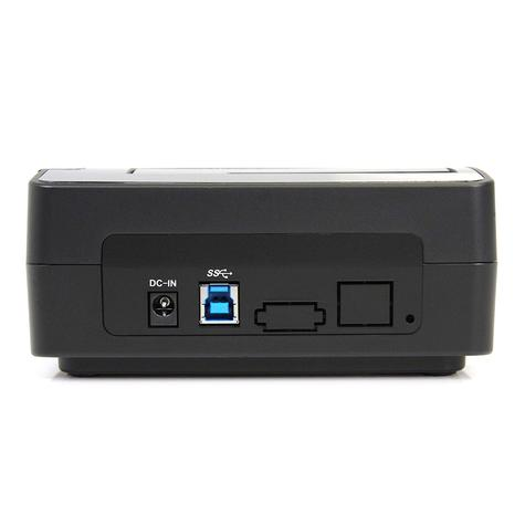 StarTech SuperSpeed USB 3.0 to SATA Hard Drive Docking Station for 2.5/3.5 HDD Thumbnail 2