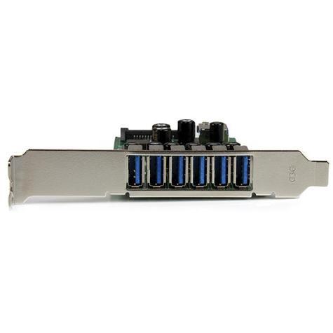 StarTech 7-Port PCI Express USB 3.0 Card | 6 External-1 Internal | Smartphone-Tablet-HDDs Thumbnail 3