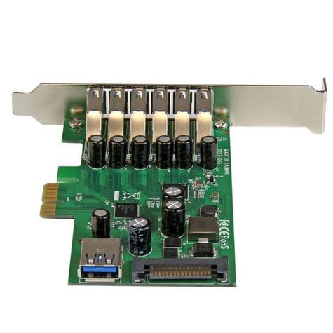 StarTech 7-Port PCI Express USB 3.0 Card | 6 External-1 Internal | Smartphone-Tablet-HDDs Thumbnail 4