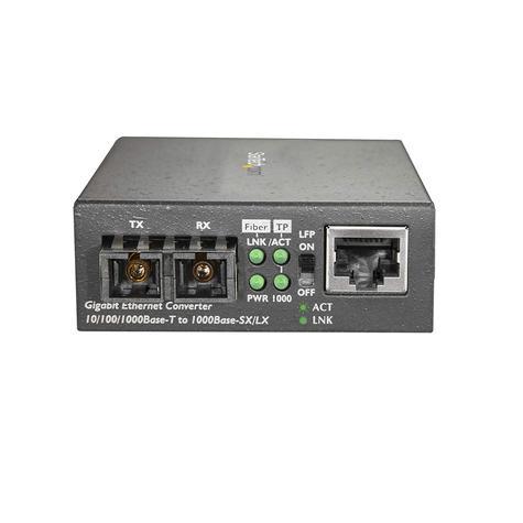 StarTech.com Gigabit Ethernet to SC Fiber Media Converter | 1000Base-LX | MCMGBSCSM1 Thumbnail 4