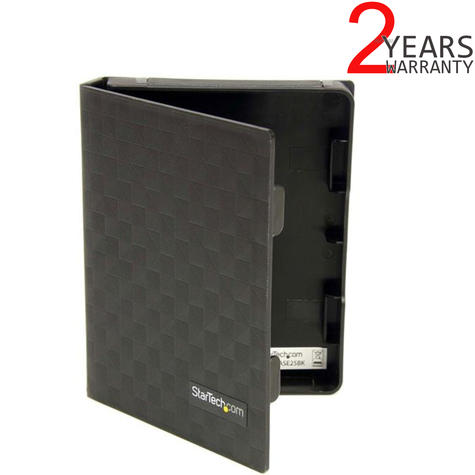 """StarTech.com 2.5"""" Anti-Static Hard Drive Protector Case (Pack of 3) 