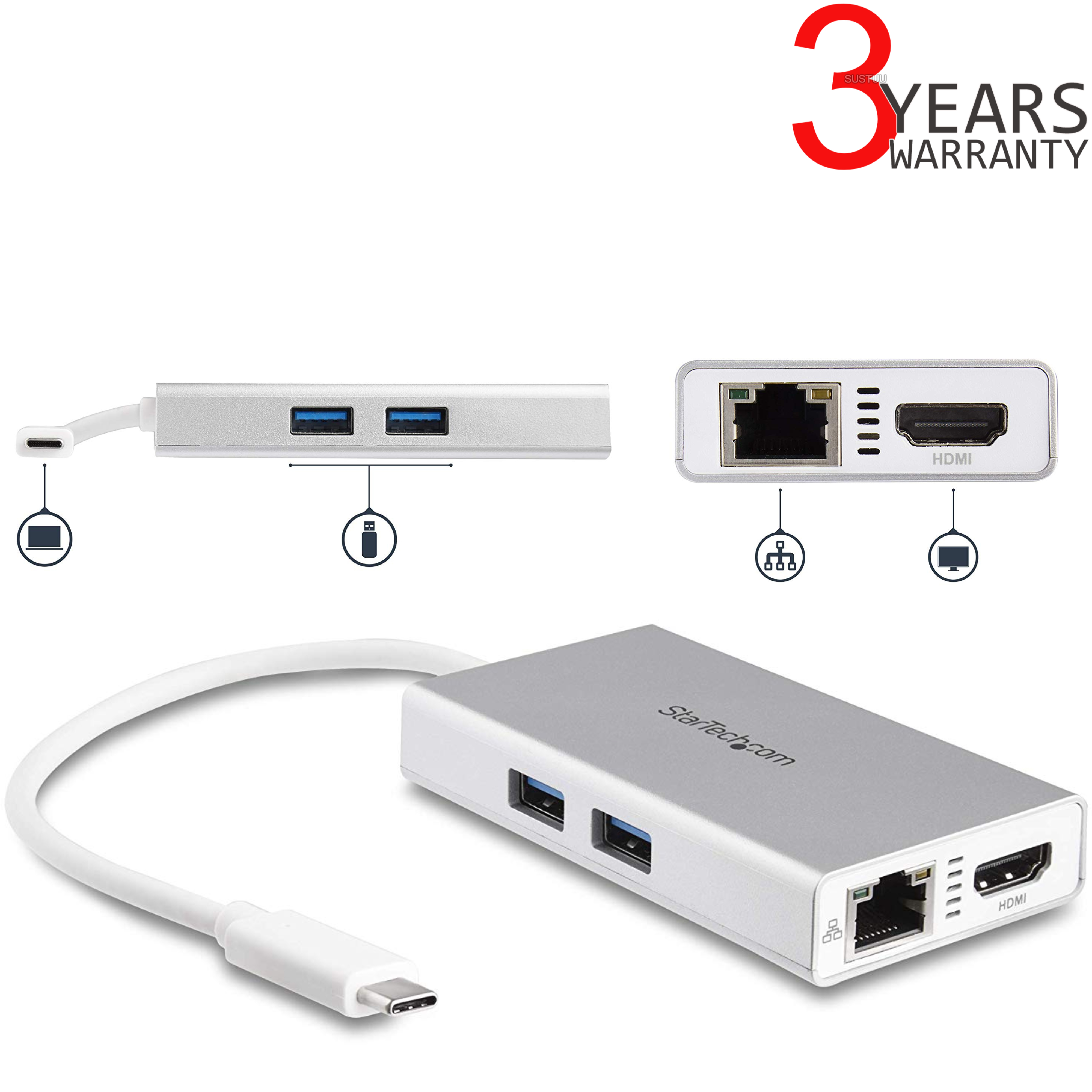 startech usb c to ethernet driver