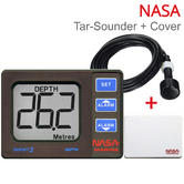 NASA Marine Target 2 Boats Depth Sounder Instrument with Transducer + TAR-COVER|Compact Size