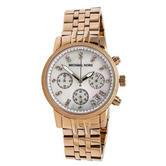 Michael Kors Damen Women's Watch|Chronograph Dial|Rose Gold Tone Bracelet|MK5026