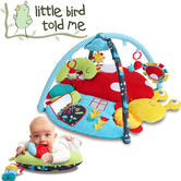 My Little Sunshine Multi-Activity Playgym | Padded Mat With Tummy Time Pillow and Toy
