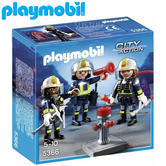 Playmobil Fire Rescue Crew | Baby/Kid's Interactive Playset | Realitic Toys | +5 years