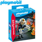 Playmobil Firefighter with Tree | Baby's Interactive Playset | Realitic Toys | +5 years