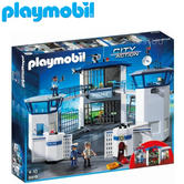 Playmobil Police Headquarters with Prison | Baby/Kid's Interactive Playset | +4 Years
