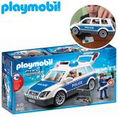 Playmobil Squad Car with Lights and Sound | Baby/Kid's Interactive Playset | +4 Years