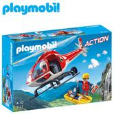 Playmobil Mountain Rescue Helicopter | Baby/Kid's Interactive Playset | Realistic Toy | +4 Years