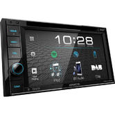 Kenwood Car Stereo | 6.2? DVD-Receiver | DAB+ Radio | 2 DIN Media Player | Bluetooth | MP3