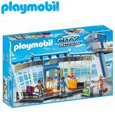 Playmobil Airport with Control Tower | Baby/Kid's Interactive Playset | Realistic Toy | +4 Years
