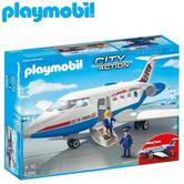 Playmobil Passenger Plane | Baby/Kid's Interactive Playset | Realistic Toys | +4 Years