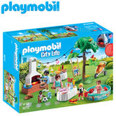 Playmobil Housewarming Party | Baby/Kid's Interactive Playset | Realistic Toys | +4 Year