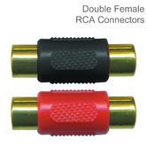 Armour Automotive Stinger Female Splice Barrel RCA Adaptor Connectors | Red & Black