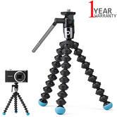 Joby GorillaPod Video Tripod/ Mount | For Mini & Pocket Camcorders | 360° | Black/Blue