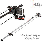 Joby Action Jib Kit | Adjustable | For Action Video Camera | JB01352-BWW-NA | Black/Red