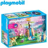 Playmobil Mystical Fairy Glen with Glowing Flower Throne?Baby's Interactive Playset | Realistic Toys | +4 Years