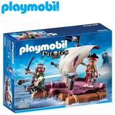 Playmobil Pirate Raft | Baby/Toddler's Floating/Interactive Toy/Playset | +4 Years
