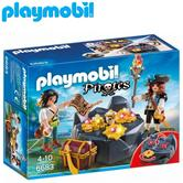 Playmobil Pirate Treasure Hideout | Baby's Interactive Playset | Realistic Toy | +4 Years