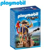 Playmobil Pirate Captain | Baby's Interactive Playset | Realistic Figure Toy | +4 Years