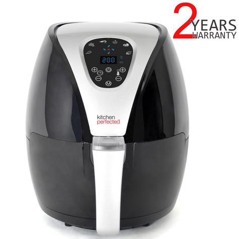 Lloytron Kitchen Perfected 2.5Ltr Digi-Touch Air Fryer | 30 Minute Timer | E6701BK Thumbnail 1