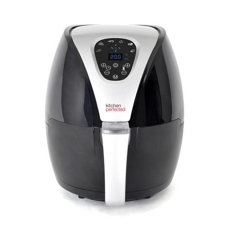 Lloytron Kitchen Perfected 2.5Ltr Digi-Touch Air Fryer | 30 Minute Timer | E6701BK Thumbnail 2