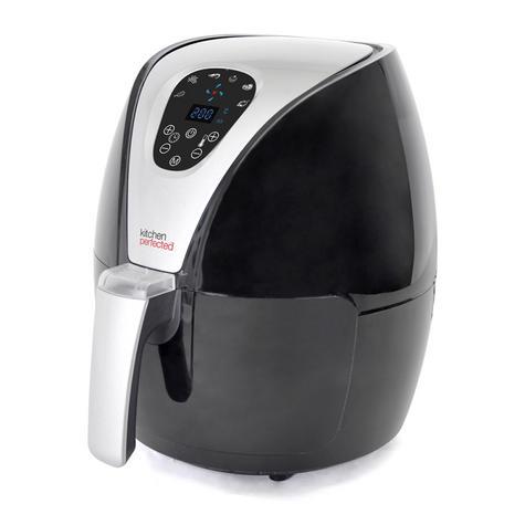 Lloytron Kitchen Perfected 2.5Ltr Digi-Touch Air Fryer | 30 Minute Timer | E6701BK Thumbnail 3