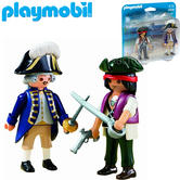 Playmobil Pirate and Soldier Duo Pack | Baby's Interactive Playset/Toy | +4 Years