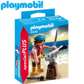 Playmobil Pirate with Cannon | Baby's Interactive Playset/Realistic Toys | +4 Years