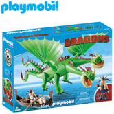 Playmobil Ruffnut and Tuffnut with Barf and Belch | Baby's Interactive Toy | +4 Years