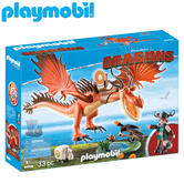 Playmobil Snotlout and Hookfang | Baby's Interactive Playset/Realistic Toys | +4 Year