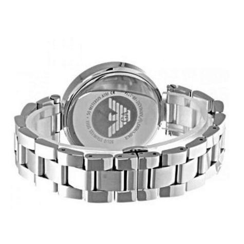 Emporio Armani Classic Ladies Watch | Mother of Pearl Dial | Stainless Strap | AR0734 Thumbnail 2