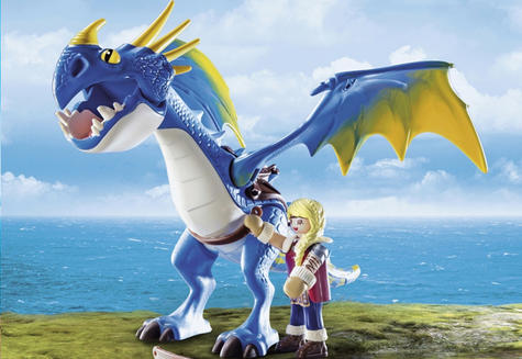 Playmobil Astrid & Stormfly | Baby's Interactive Playset/Realistic Toys | +4 Years Thumbnail 8
