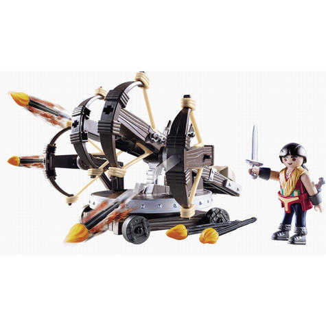 Playmobil Eret with 4 Shot Fire Ballista | Baby's Interactive Playset | +4 years Thumbnail 2