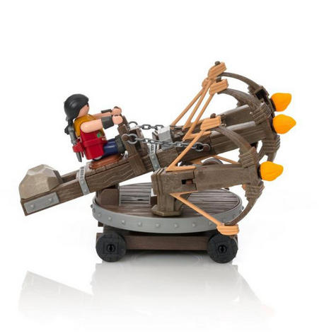Playmobil Eret with 4 Shot Fire Ballista | Baby's Interactive Playset | +4 years Thumbnail 4