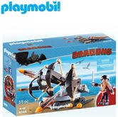 Playmobil Eret with 4 Shot Fire Ballista | Baby's Interactive Playset | +4 years