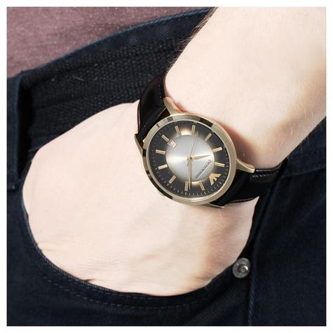 Emporio Armani Classic Men's Watch | PVD Gold Plated Case | Leather Strap | AR2468 Thumbnail 3