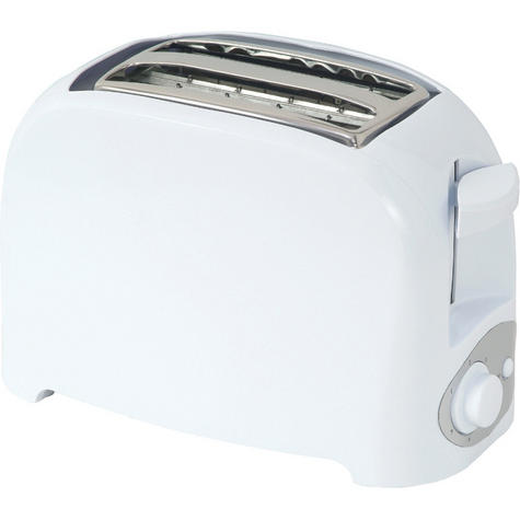 Infapower 2 Slice Toaster | Browning 7 Settings | Auto-Manual Stop | Crumb Tray | White Thumbnail 2