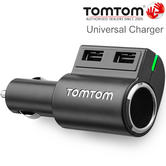 TomTom Fast Multi-Charger | Cigar Lighter Adapter | USB | Smartphone-Tablet-GPS/SatNav