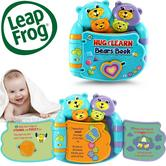 Leap Frog Hugs & Rhyme Bears Book | Learn Numbers,Shapes,Alphabates | With Lights & Sound