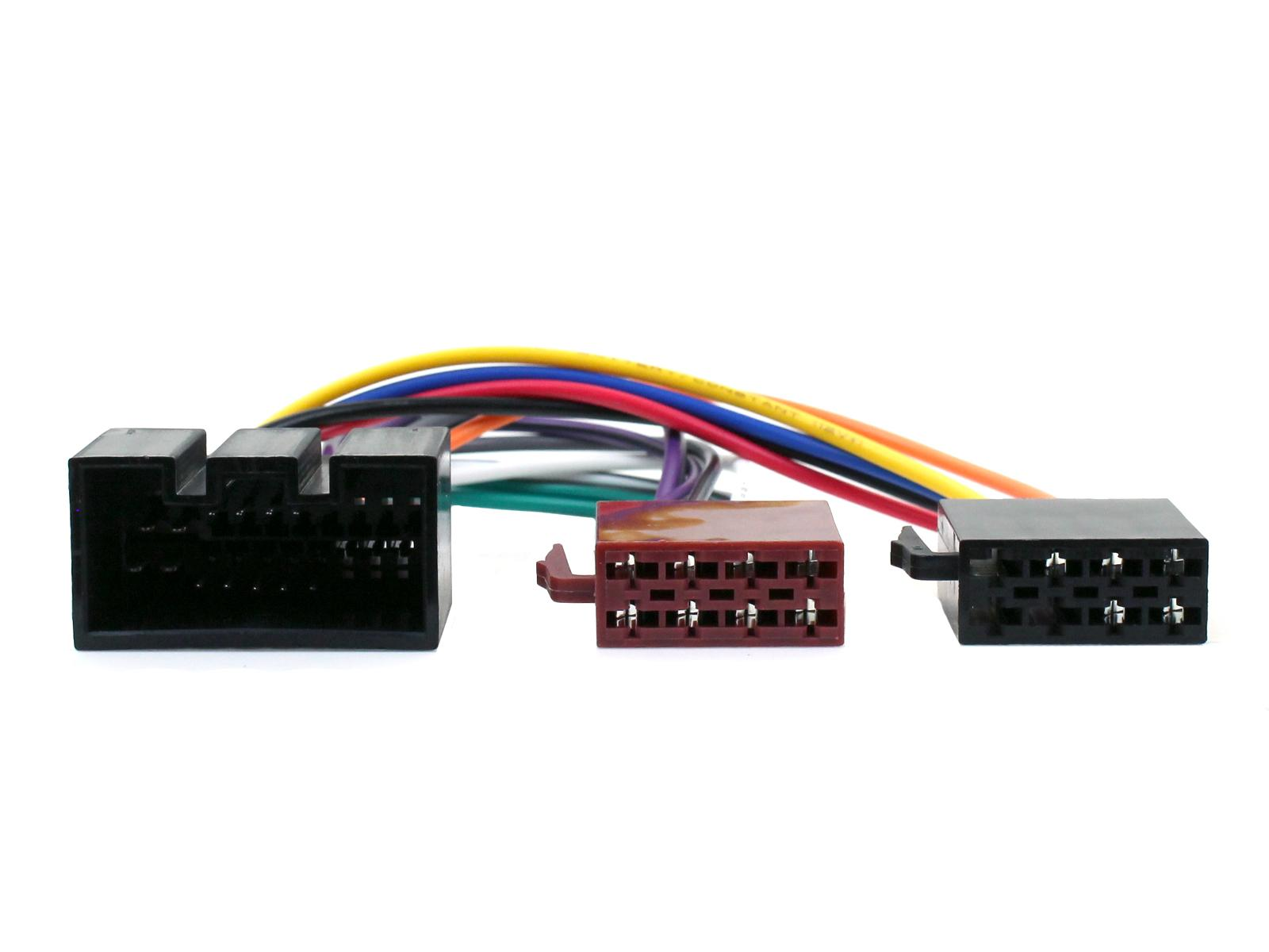 Connects2 ISO Wiring Harness Adapter Lead | Jaguar X/S Type-XJ6-XJ8