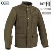 Bering Maximus Motorcycle/Bike Men Textile Jacket | CE App./ Waterproof | Green/Kaki