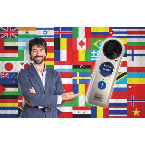 Lexibook LANGIE 50-Language Interactive Speaking Translator + Cover?Light Weight Thumbnail 7