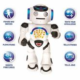 Lexibook ROB50EN Powerman Educational Remote Controll Robot | Perfect for Kids 4-7