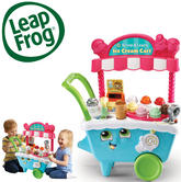 Leap Frog Scoop & Learn Ice Cream Cart | Educational Toy | Learn Colours & Number & Sequencing | +2 Years